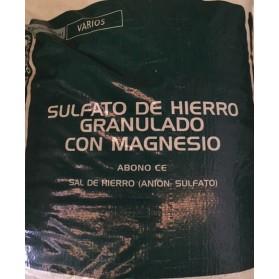 SULFATO DE HIERRO GRANULADO